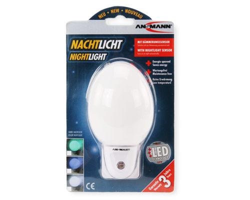 ansmann nighlight nl 4w lampe veilleuse technologie led blanc neuf ebay. Black Bedroom Furniture Sets. Home Design Ideas